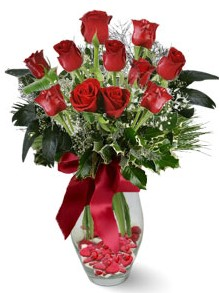 9 adet gül  Afyon internetten çiçek satışı  kirmizi gül