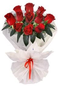11 adet gül buketi  Afyon internetten çiçek siparişi  kirmizi gül