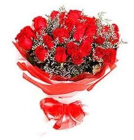 Afyon çiçek mağazası , çiçekçi adresleri  12 adet kırmızı güllerden görsel buket
