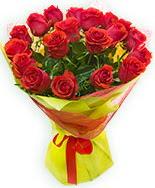 19 Adet kırmızı gül buketi  Afyon çiçek siparişi vermek