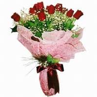 Afyon çiçek siparişi sitesi  12 adet kirmizi kalite gül