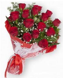 11 kırmızı gülden buket  Afyon güvenli kaliteli hızlı çiçek