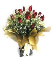 Afyon internetten çiçek siparişi  11 adet kirmizi gül  buketi
