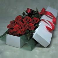 Afyon online çiçek gönderme sipariş  11 adet gülden kutu