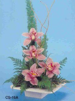 Afyon çiçekçi telefonları  vazoda 4 adet orkide