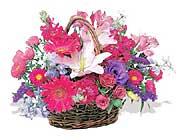 küçük karisik özel sepet   Afyon çiçek online çiçek siparişi
