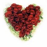 kalp biçiminde 15 gülden   Afyon güvenli kaliteli hızlı çiçek