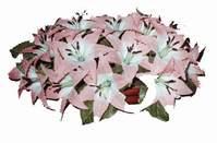 yapay karisik çiçek sepeti   Afyon çiçekçi mağazası