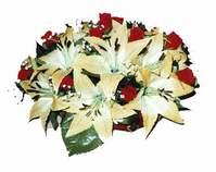 yapay karisik çiçek sepeti   Afyon internetten çiçek siparişi