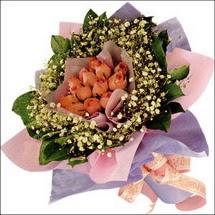 11  adet  gül ve   elyaflar   Afyon çiçekçi mağazası