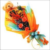ayicik gül ve kir çiçekleri   Afyon çiçekçi mağazası