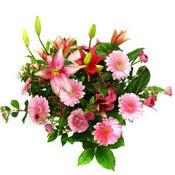 lilyum ve gerbera çiçekleri - çiçek seçimi -  Afyon çiçek gönderme