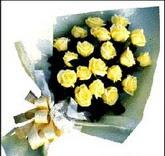 sari güllerden sade buket  Afyon çiçek , çiçekçi , çiçekçilik
