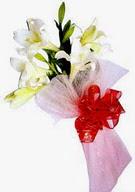 Afyon çiçek , çiçekçi , çiçekçilik  ince vazoda gerbera ve ayi