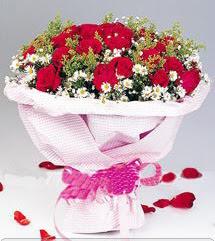 Afyon internetten çiçek satışı  12 ADET KIRMIZI GÜL BUKETI