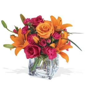 Afyon çiçek mağazası , çiçekçi adresleri  cam içerisinde kir çiçekleri demeti