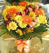 Afyon hediye çiçek yolla  karma büyük ve gösterisli mevsim demeti