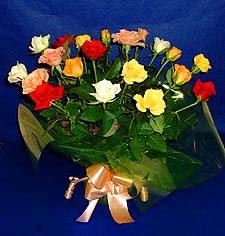 Afyon hediye çiçek yolla  13 adet karisik renkli güller