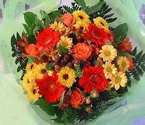 Afyon ucuz çiçek gönder  sade hos orta boy karisik demet çiçek