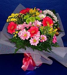 karisik sade mevsim demetligi   Afyon 14 şubat sevgililer günü çiçek