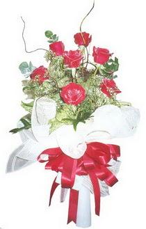 Afyon çiçek siparişi sitesi  7 adet kirmizi gül buketi