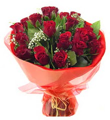 Afyon anneler günü çiçek yolla  11 adet kimizi gülün ihtisami buket modeli