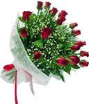 Afyon internetten çiçek satışı  11 adet kirmizi gül buketi sade ve hos sevenler