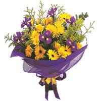 Afyon çiçek gönderme sitemiz güvenlidir  Karisik mevsim demeti karisik çiçekler