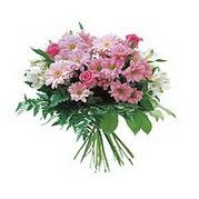 karisik kir çiçek demeti  Afyon çiçek satışı