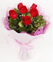 9 adet kaliteli görsel kirmizi gül  Afyon çiçek gönderme