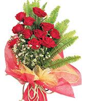 11 adet kaliteli görsel kirmizi gül  Afyon çiçek satışı