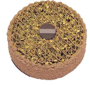 Krokanli 4 ile 6 kisilik yas pasta leziz  Afyon çiçek gönderme