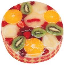 Meyvali 4 ile 6 kisilik yas pasta leziz  Afyon hediye çiçek yolla