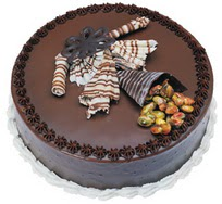 Çikolatali yas pasta 4 ile 6 kisilik  leziz  Afyon çiçek mağazası , çiçekçi adresleri