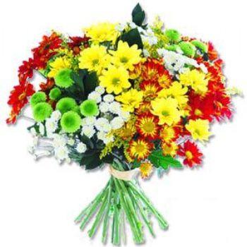 Kir çiçeklerinden buket modeli  Afyon online çiçek gönderme sipariş