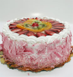 görsel pastacilar 4 ile 6 kisilik yas pasta karisik meyvali  Afyon çiçek online çiçek siparişi