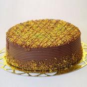 sanatsal pastaci 4 ile 6 kisilik krokan çikolatali yas pasta  Afyon cicek , cicekci