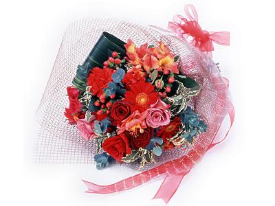 Karisik buket çiçek modeli sevilenlere  Afyon uluslararası çiçek gönderme