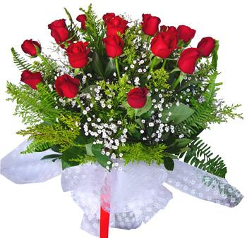 11 adet gösterisli kirmizi gül buketi  Afyon internetten çiçek satışı