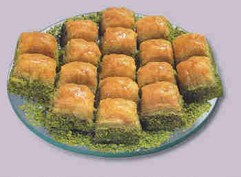 pasta tatli satisi essiz lezzette 1 kilo fistikli baklava  Afyon internetten çiçek siparişi