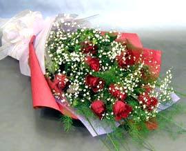 10 adet kirmizi gül çiçegi gönder  Afyon anneler günü çiçek yolla