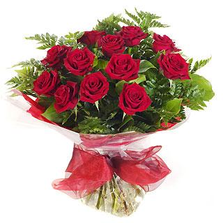 Ucuz Çiçek siparisi 11 kirmizi gül buketi  Afyon çiçek online çiçek siparişi
