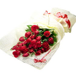 Çiçek gönderme 13 adet kirmizi gül buketi  Afyon çiçek satışı