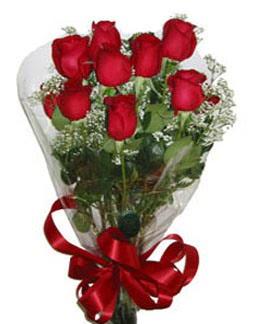 Çiçek sade gül buketi 7 güllü buket  Afyon online çiçek gönderme sipariş