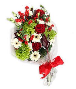 Karisik mevsim buketi çiçek tanzimi  Afyon internetten çiçek siparişi