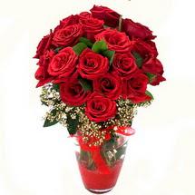 Afyon çiçek siparişi sitesi   9 adet kirmizi gül
