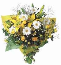 Afyon ucuz çiçek gönder  Lilyum ve mevsim çiçekleri