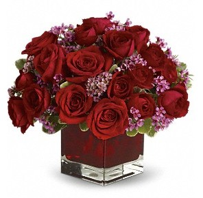 11 adet kırmızı gül vazosu  Afyon çiçekçiler