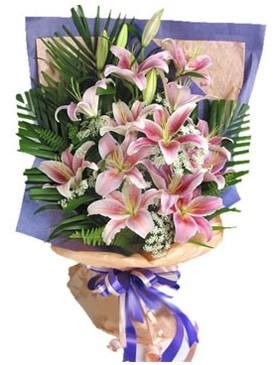 7 dal kazablankadan görsel buket  Afyon kaliteli taze ve ucuz çiçekler