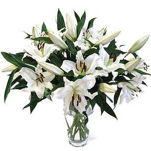 Afyon çiçekçi telefonları  3 dal görsel casablanca vazo tanzimi